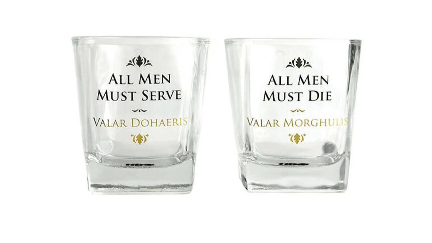 Game of Thrones Whiskeygläser