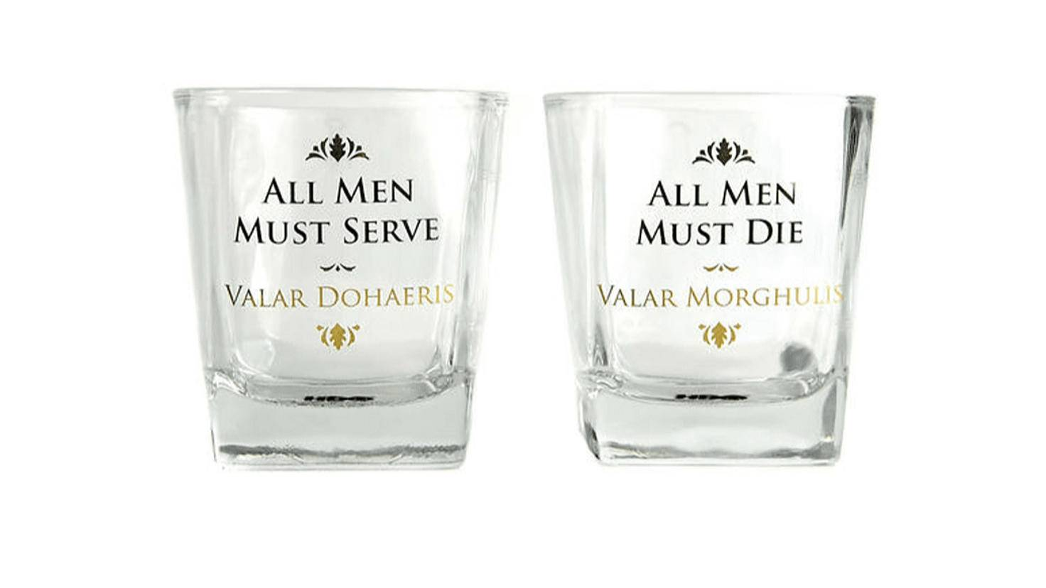 Game of Thrones Whiskeygläser