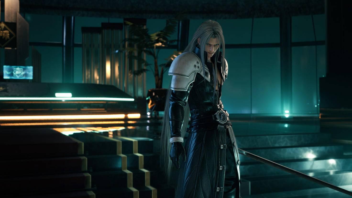 FF7R Sephiroth
