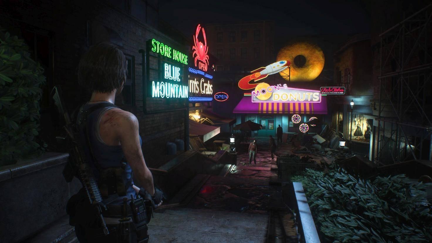 Resident Evil 3 Remake PS4 Pro 2