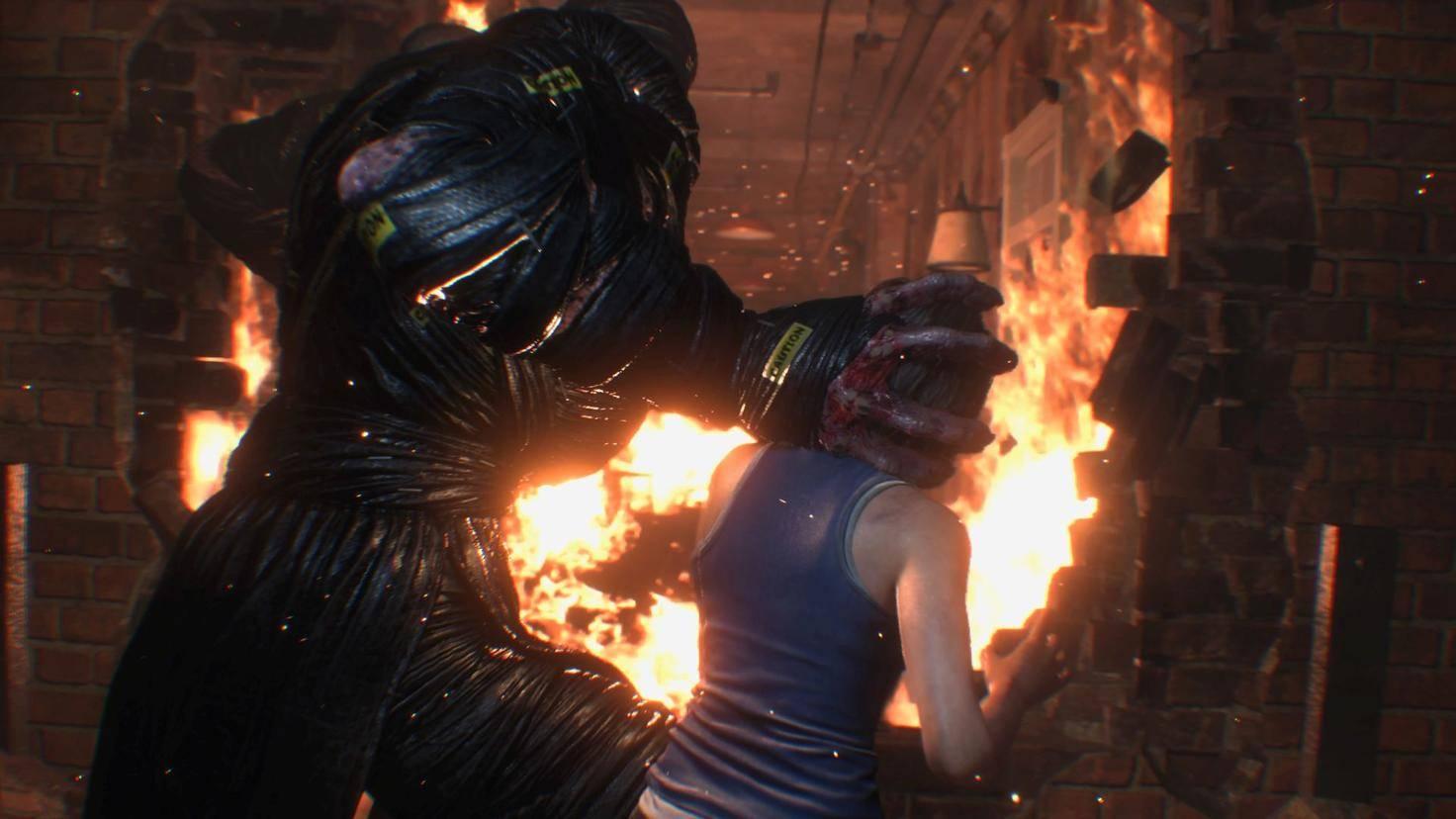 Resident Evil 3 Remake PS4 Pro 7