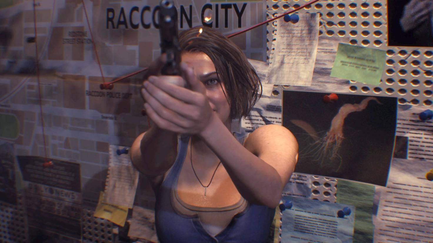 Resident Evil 3 Remake PS4 Pro 4