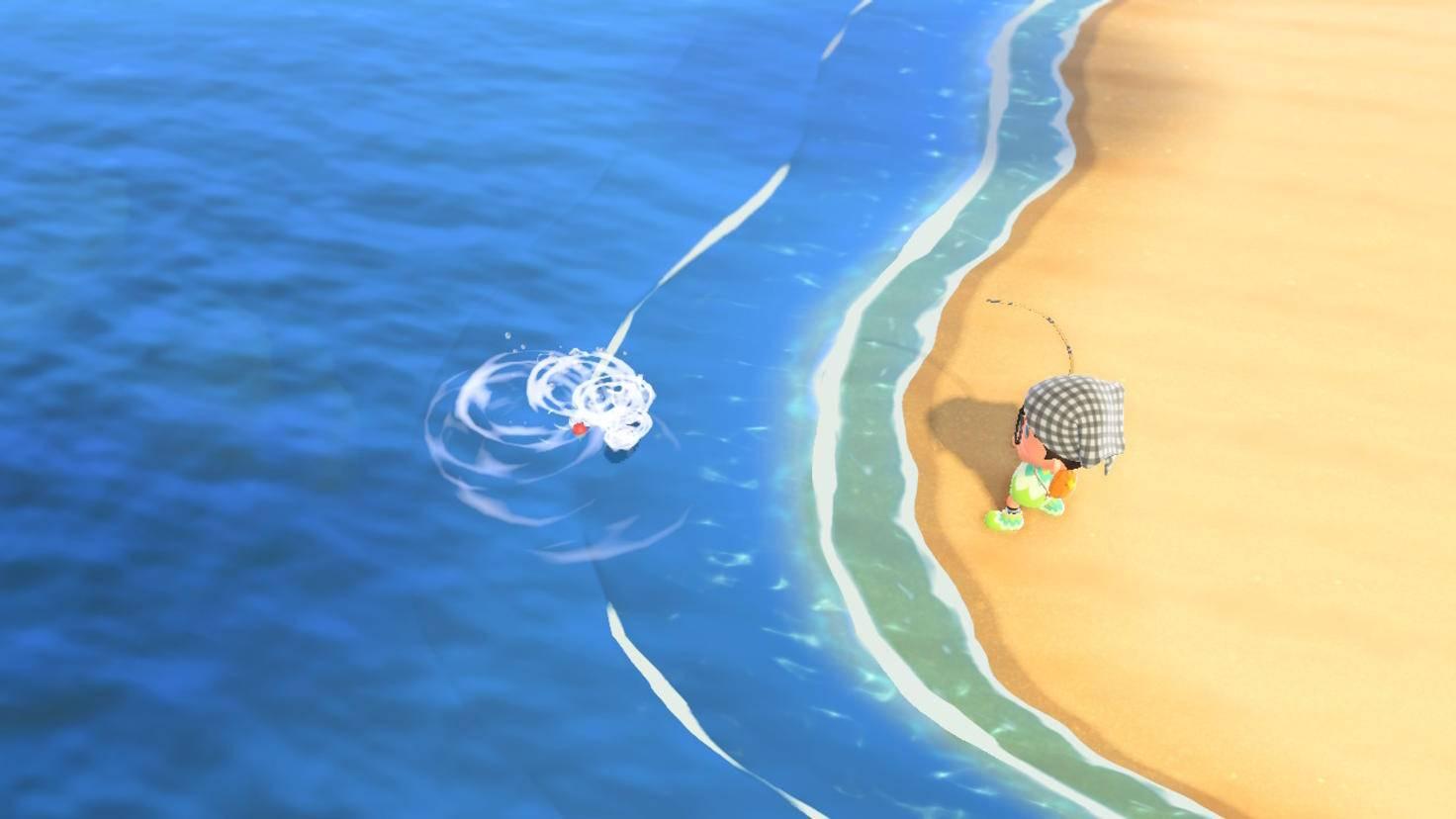 Animal Crossing New Horizons Angeln