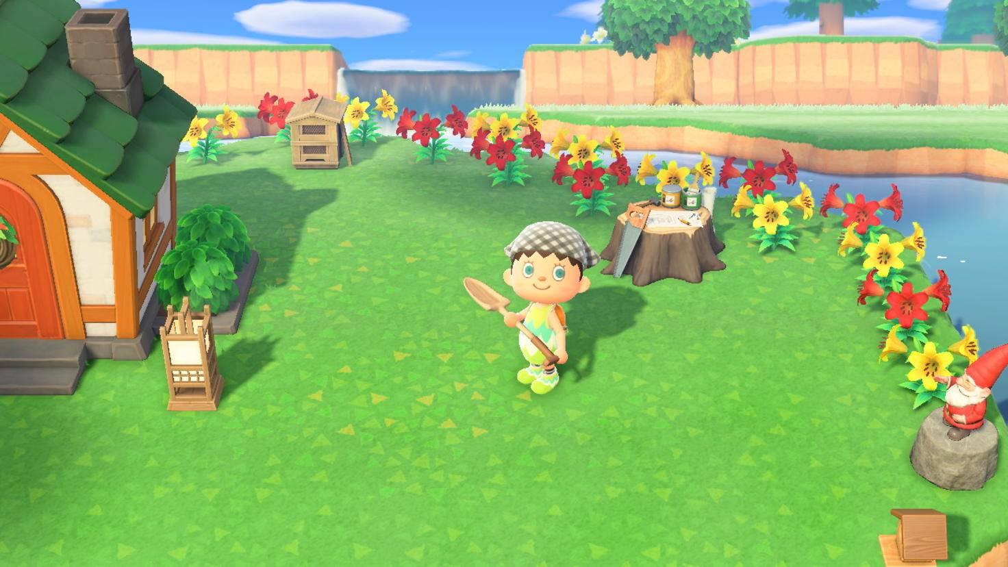 Animal Crossing New Horizons Wackelschaufel
