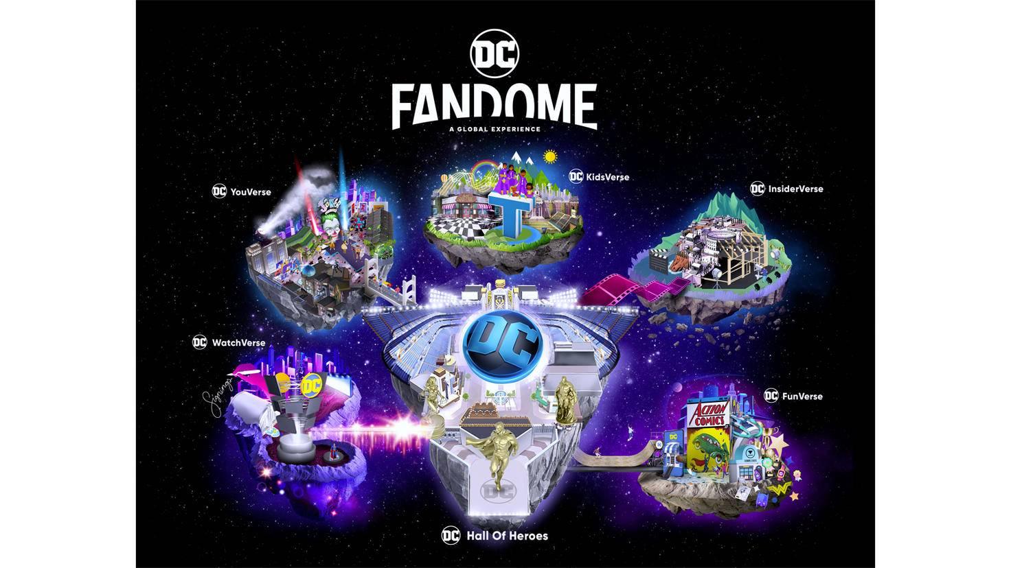 DC FanDome Karte