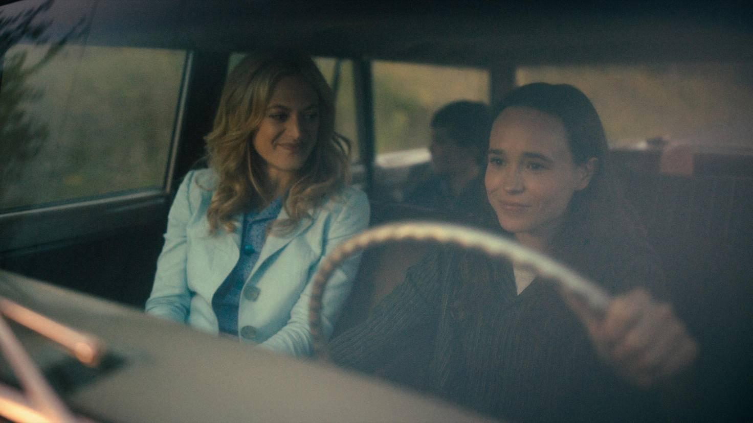 Umbrella Academy Marin Ireland als Sissy und Ellen Page als Vanya Staffel 2