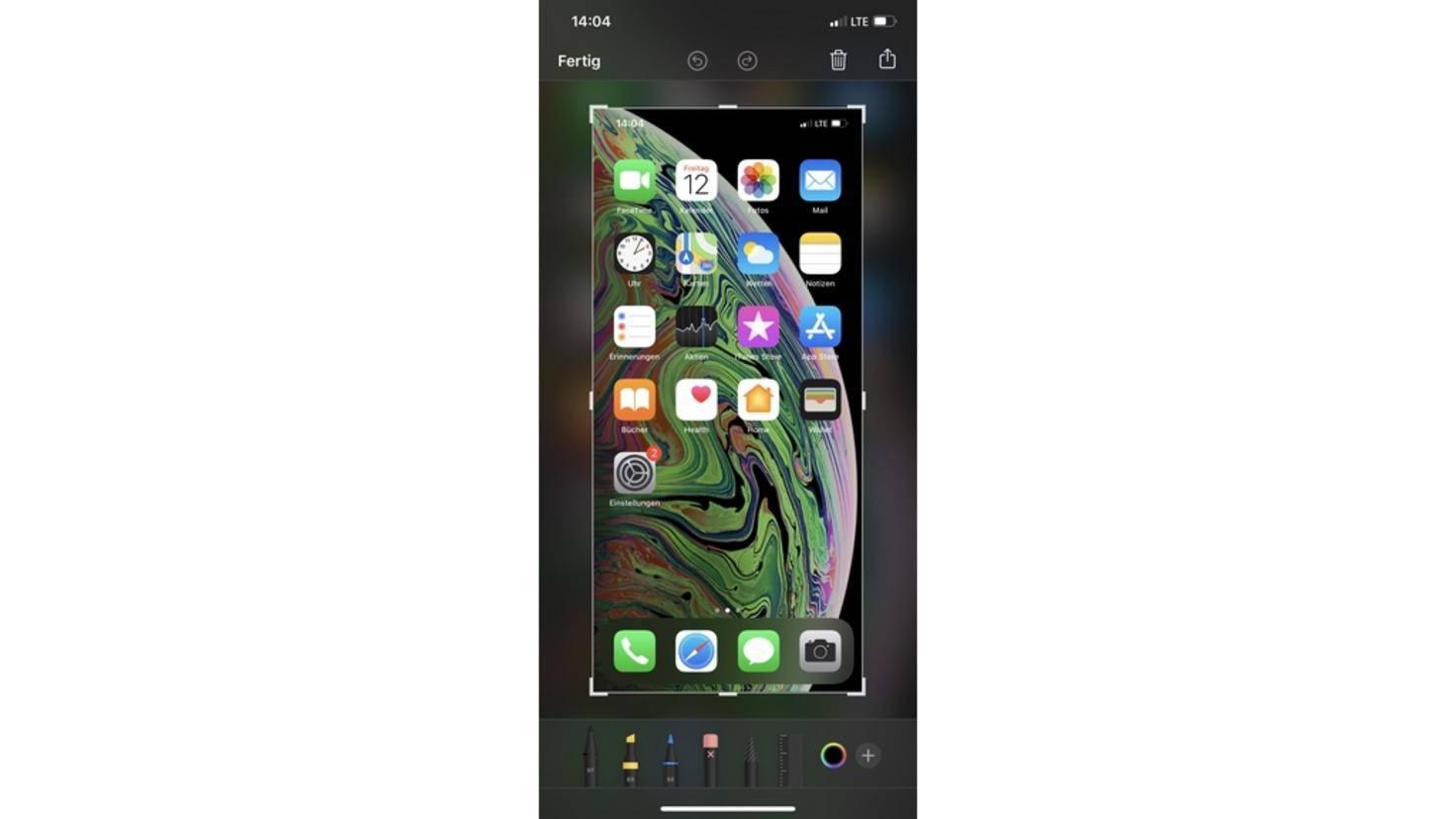 iOS-Screenshot-Interface