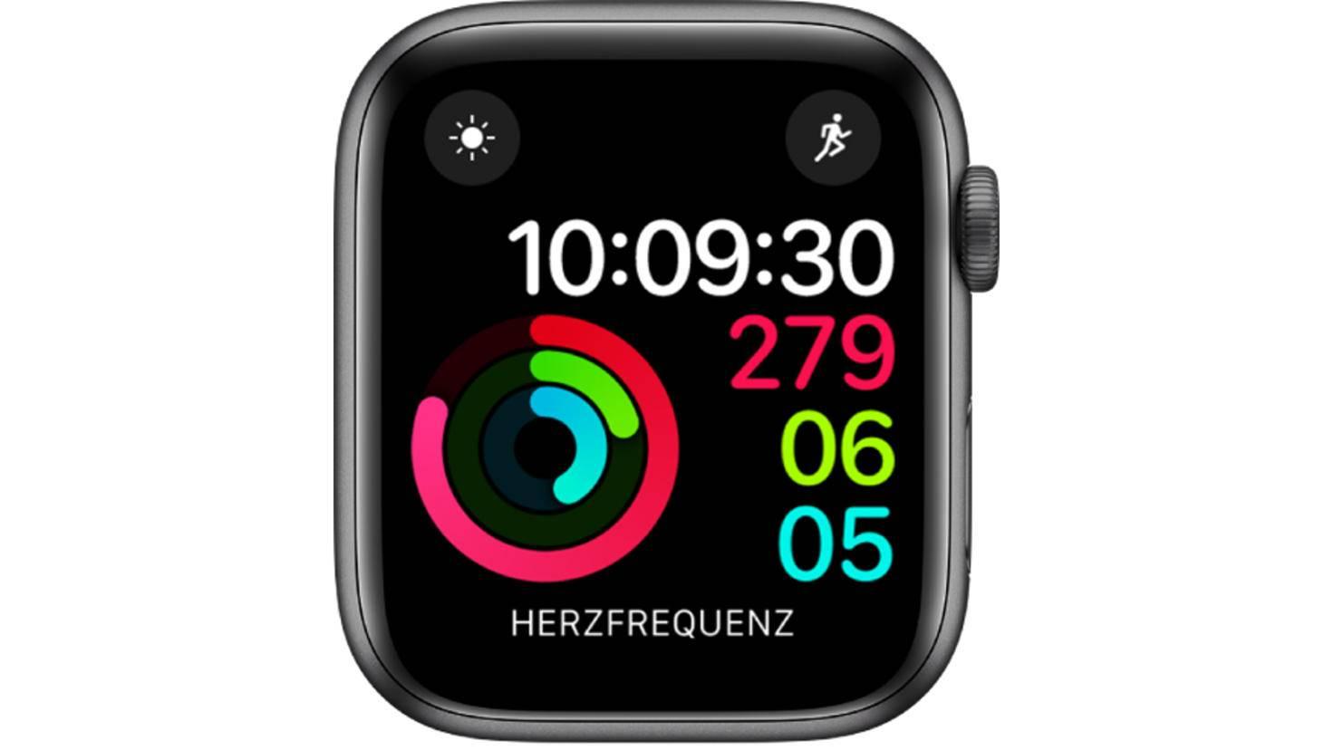 Apple Watch Aktivität digital