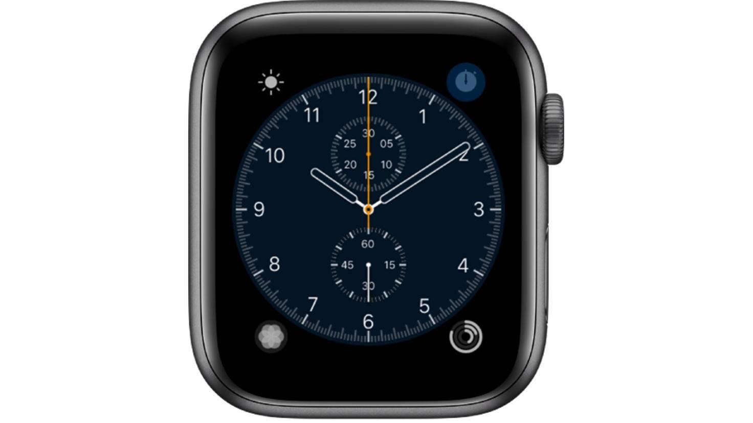 Apple Watch Chronograph