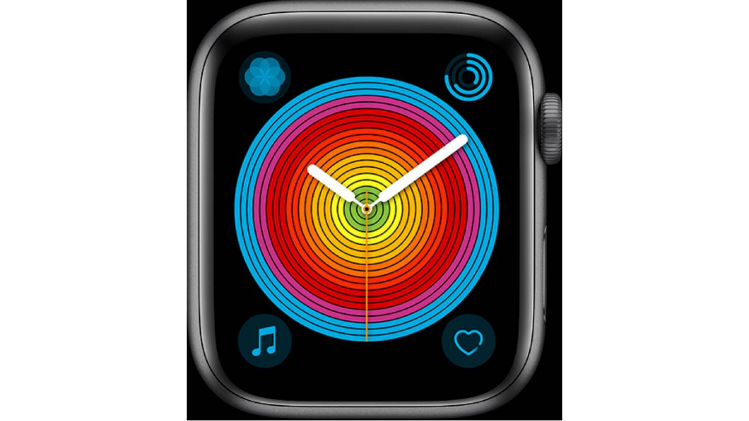 Apple Watch Pride Analog