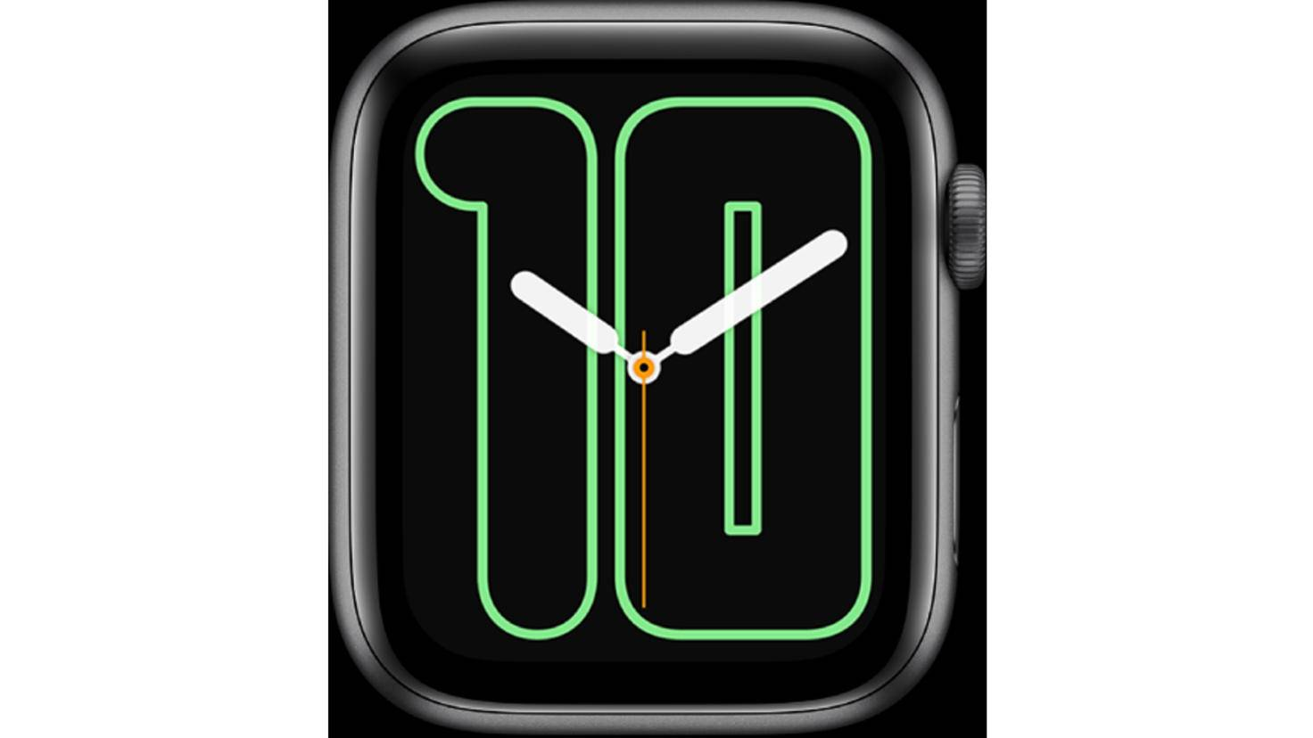 Apple Watch Zahlen Mono