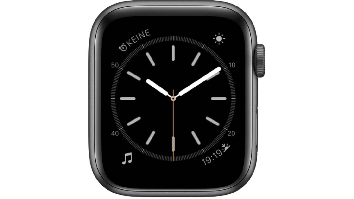 Apple Watch schlicht