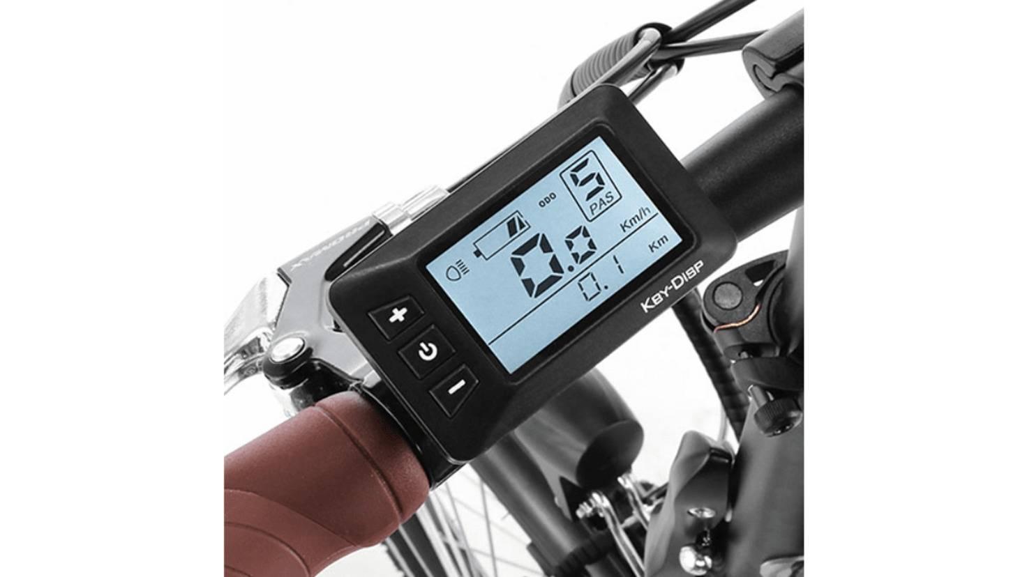 Fischer citybike LCD Display
