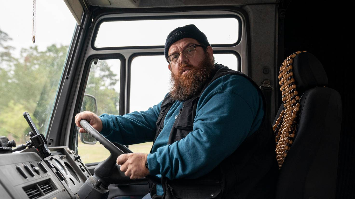 Truth Seekers Nick Frost as Gus Roberts