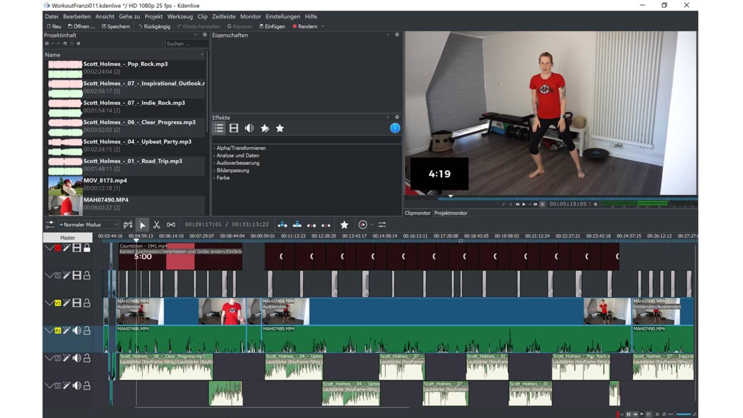 Video schneiden kostenlos kdenlive 2