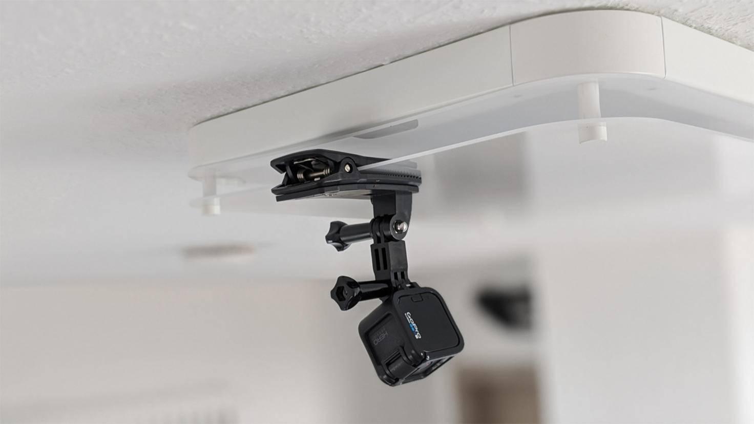 Zweitkamera ist eine GoPro Session, ...
