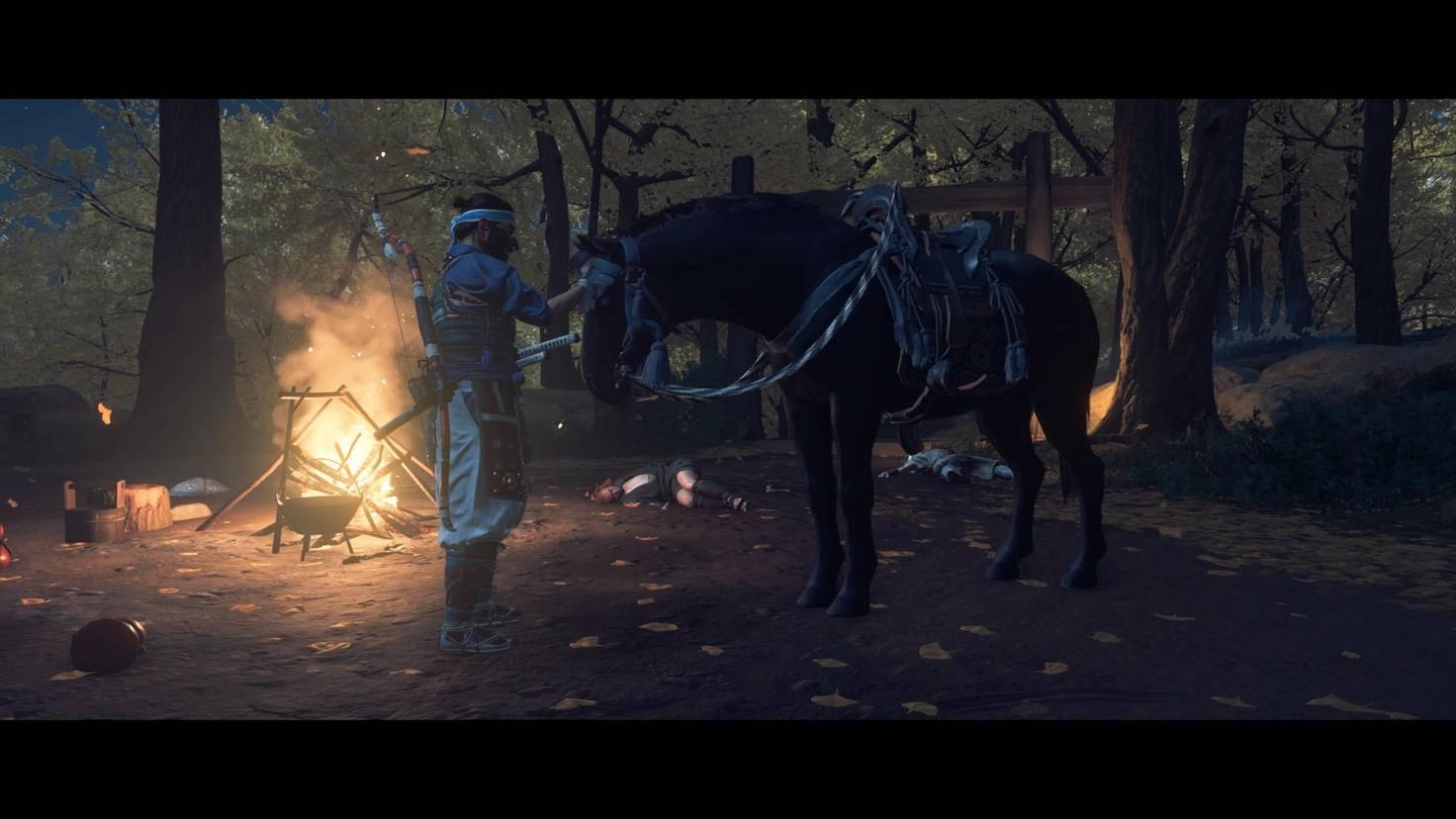 ghost-of-tsushima-pferd