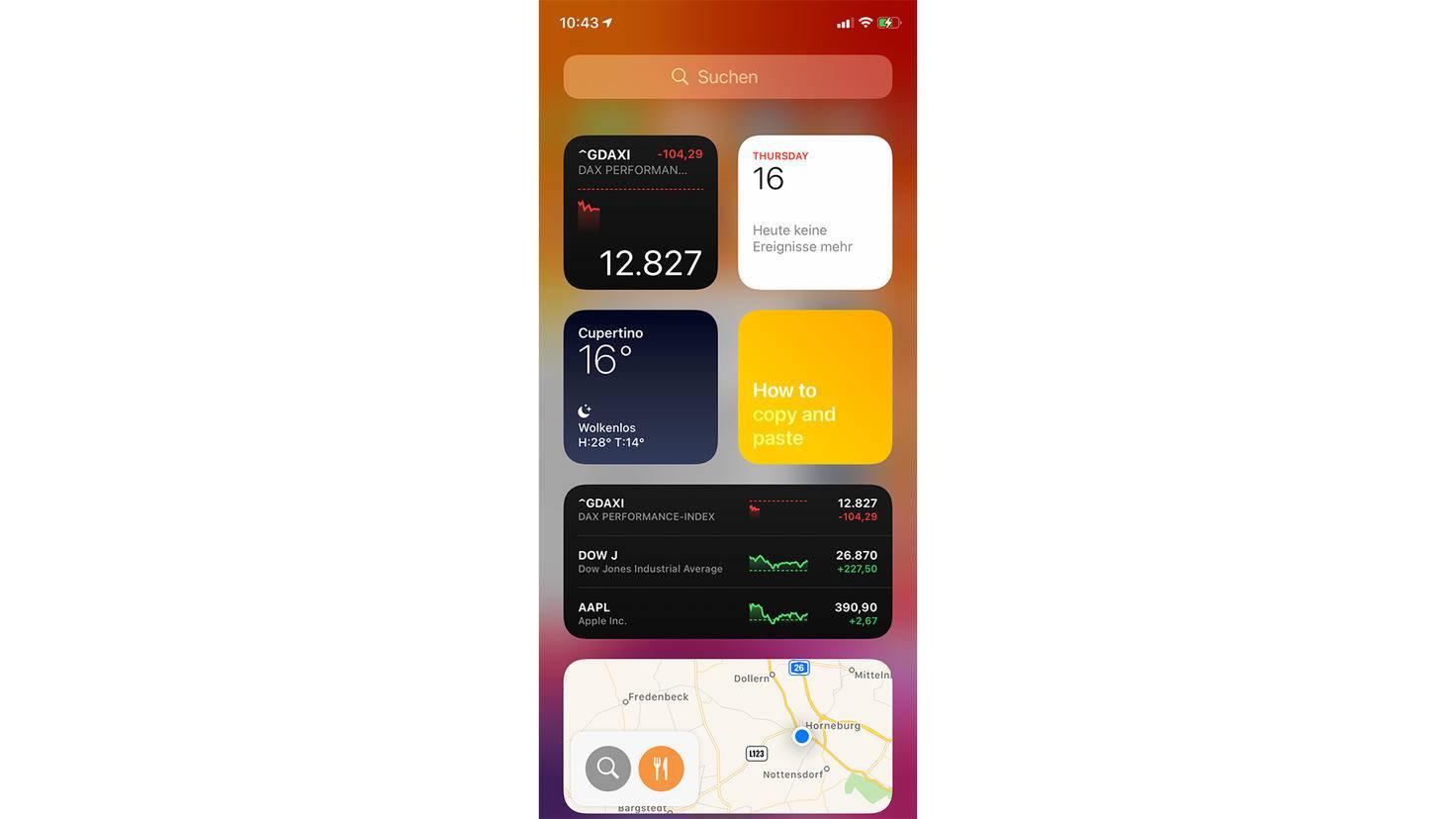 Widgets sind in iOS 14 deutlich informativer.