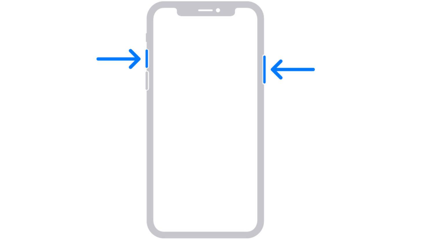 iPhone ohne Home-Button Screenshot