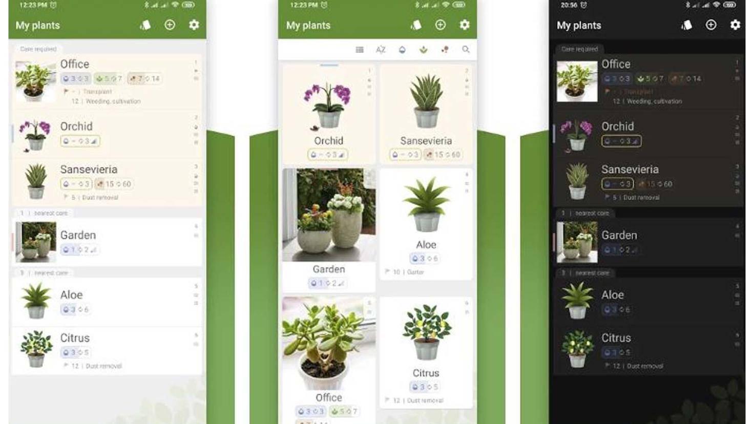 Plant Care Reminder-App