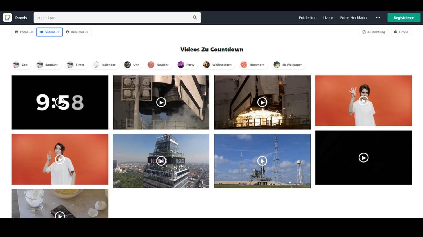 video effekte kostenlos pexels