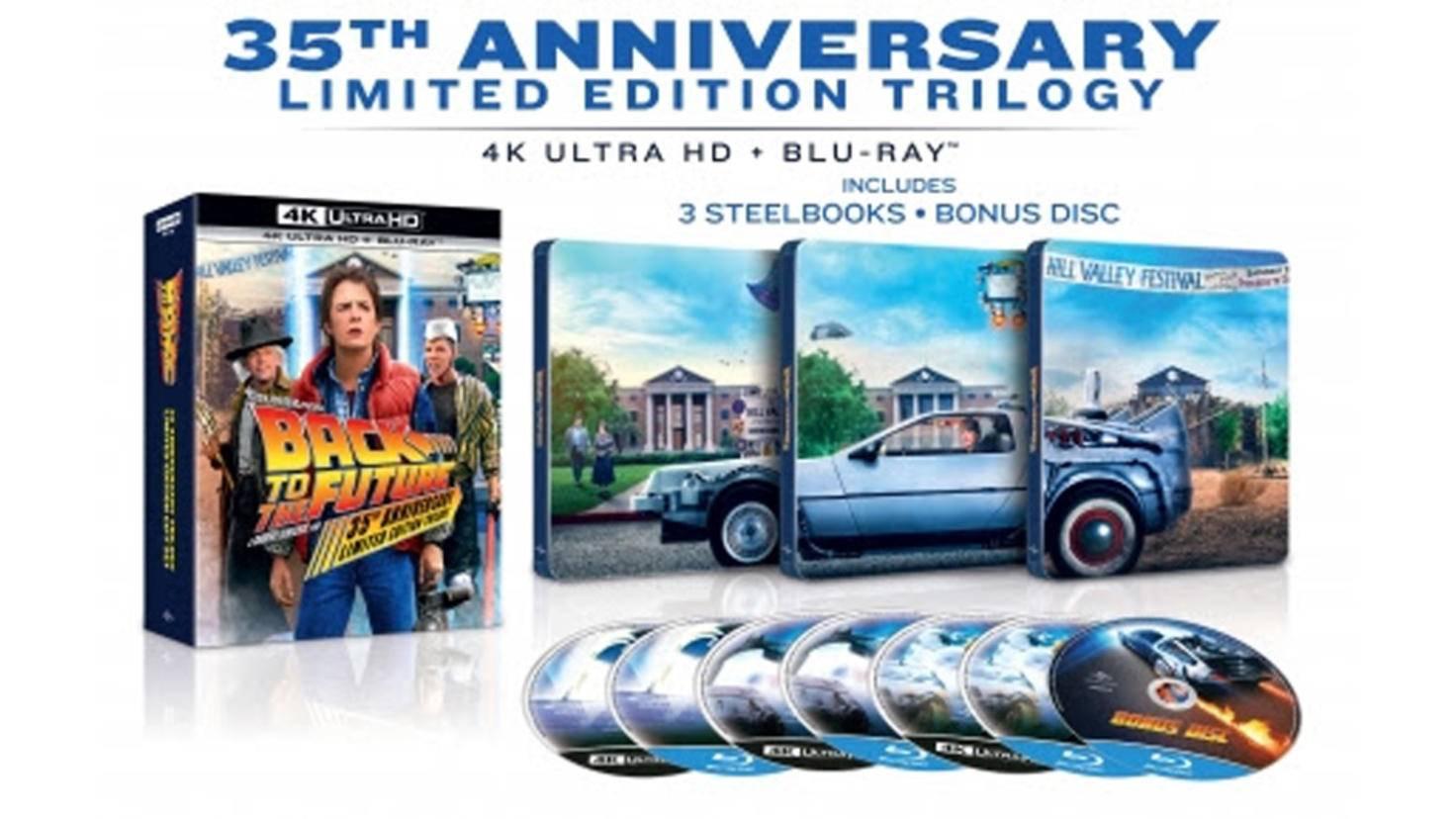 zurueck in die zukunft trilogie 4 k ultra HD