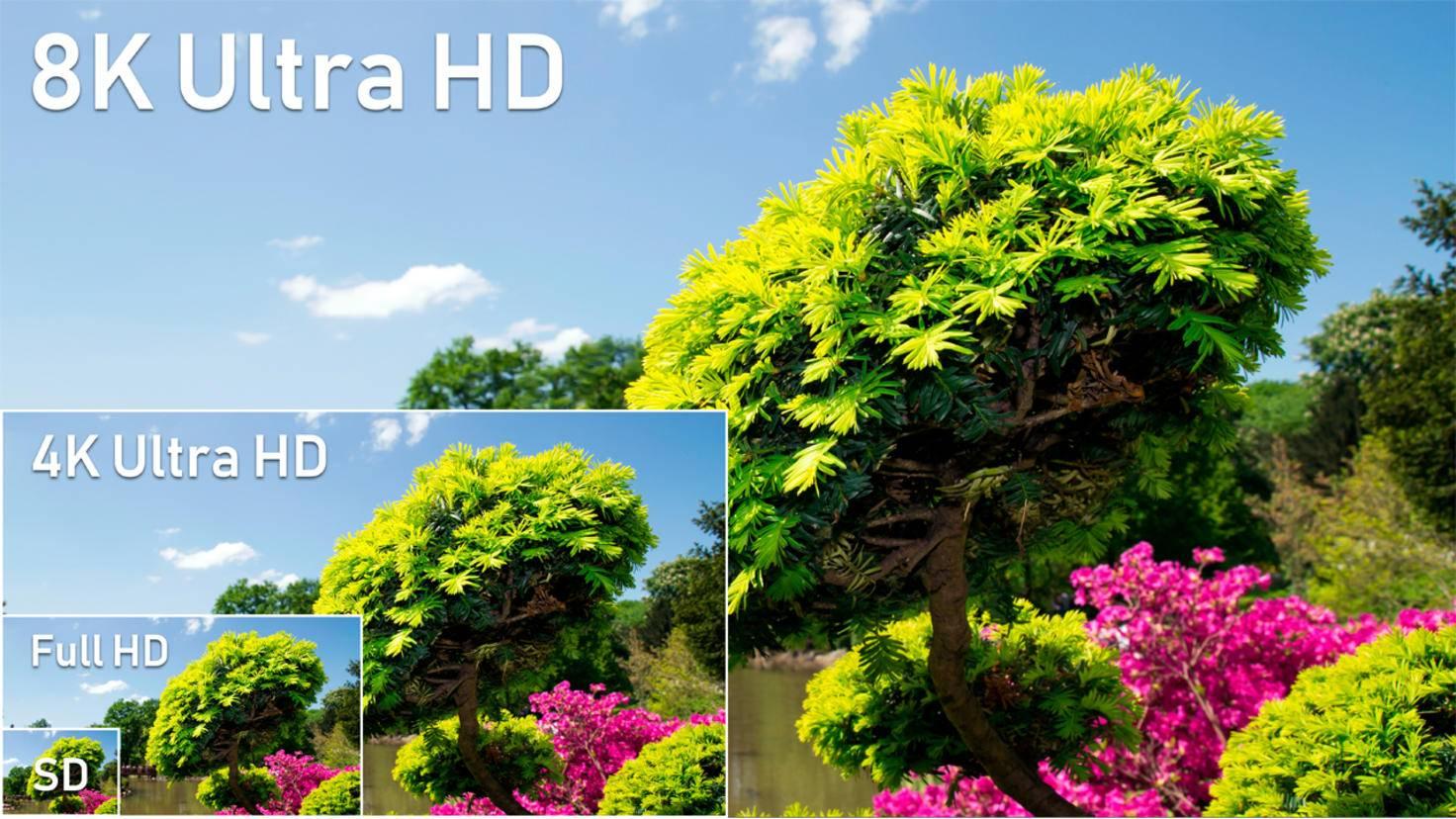 8K Fernseher Aufloesung Ultra HD