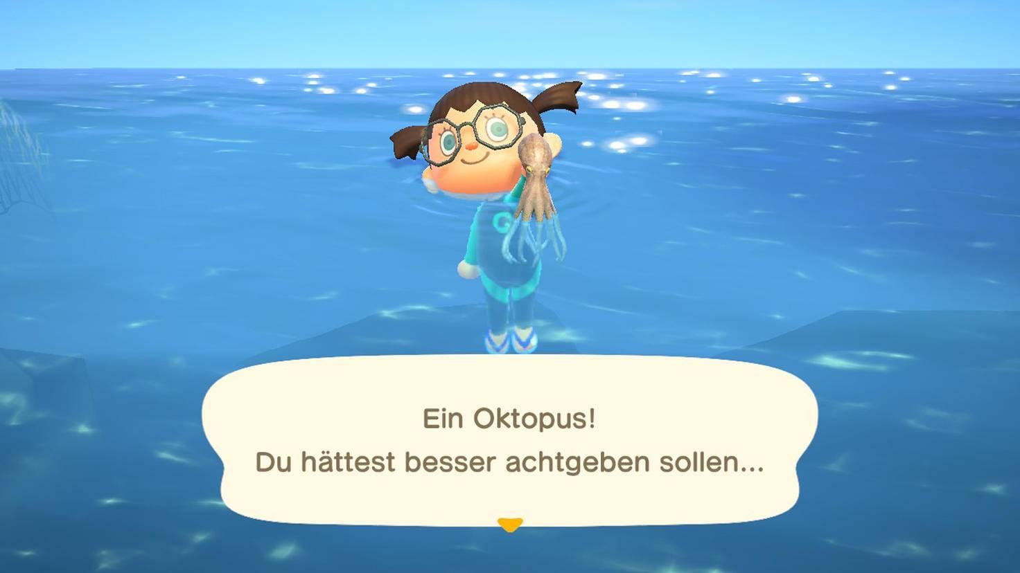 Animal Crossing New Horizons Oktopus