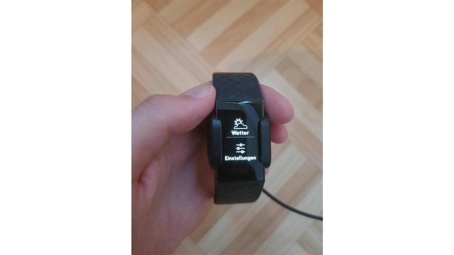 Fitbit Charge 3 Einstellungen
