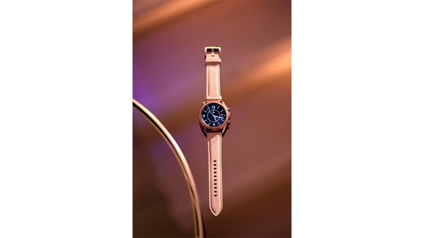 Die Galaxy Watch 3 wird in zwei Größen angeboten.