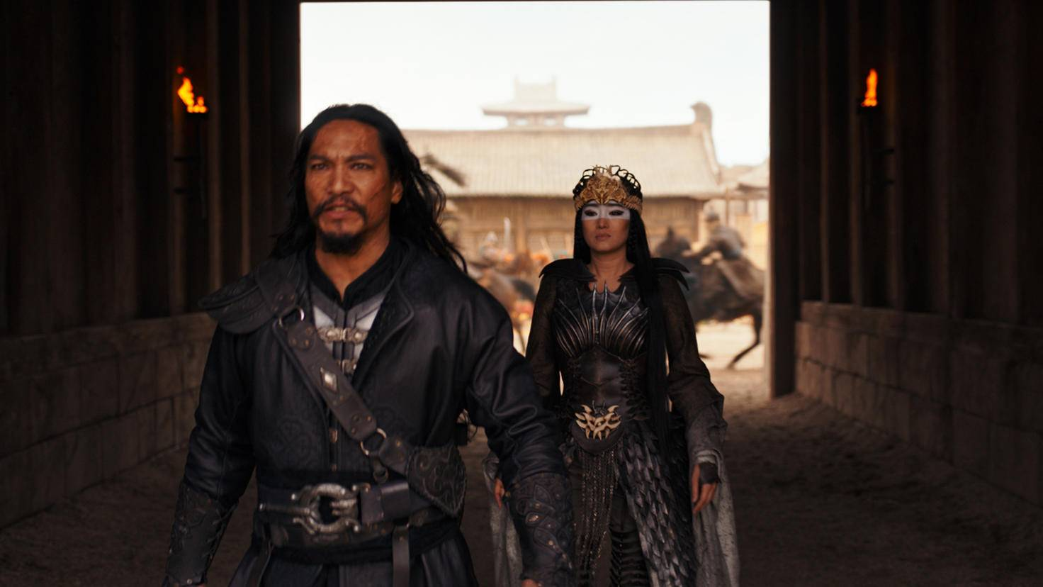 MULAN Xianniang Gong Li Bori Khan Jason Scott Lee