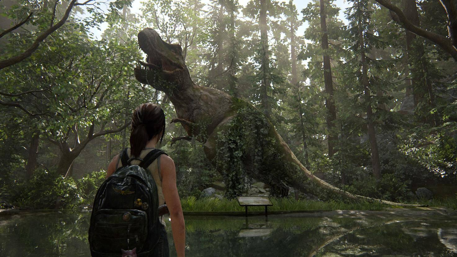 The Last of Us Part II T-Rex