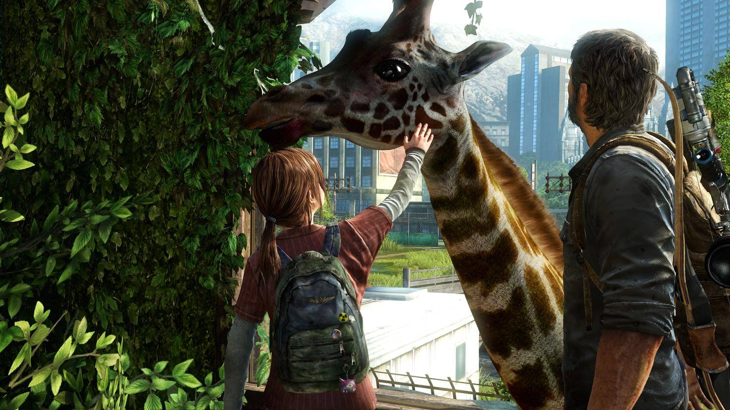 The Last of Us Remastered Giraffe Giraffenszene