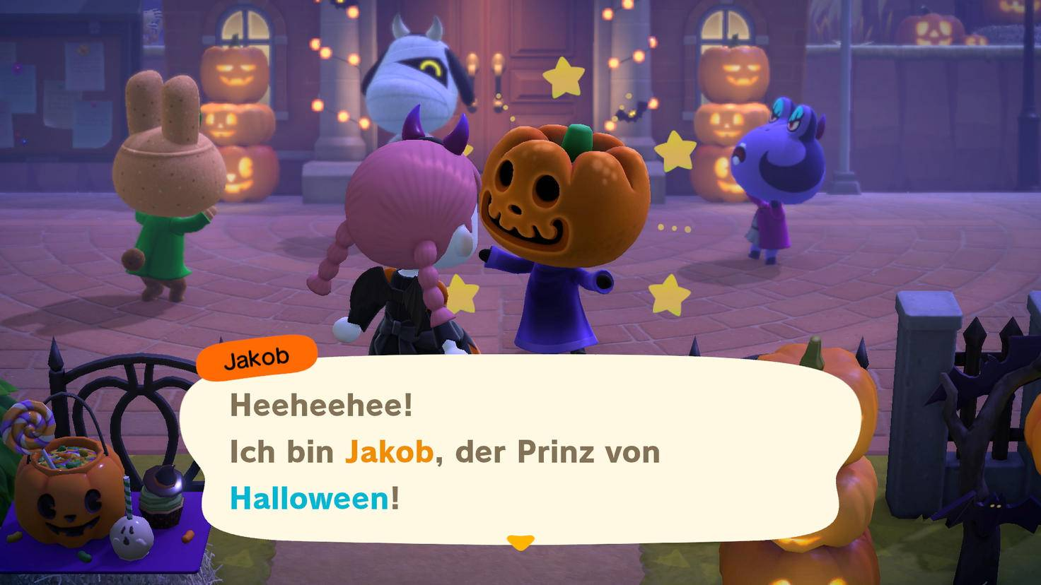 Animal Crossing New Horizons Halloween Update