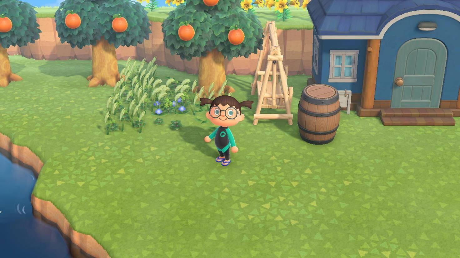 Animal Crossing New Horizons Herbst-Unkraut