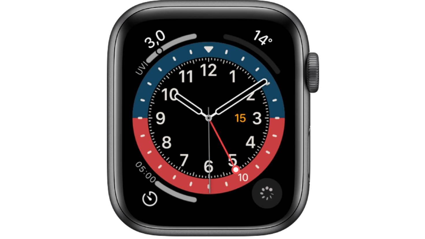 Apple Watch GMT