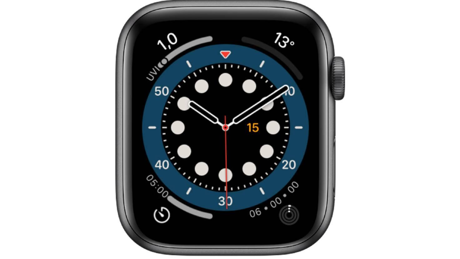 Apple Watch Hochzählen