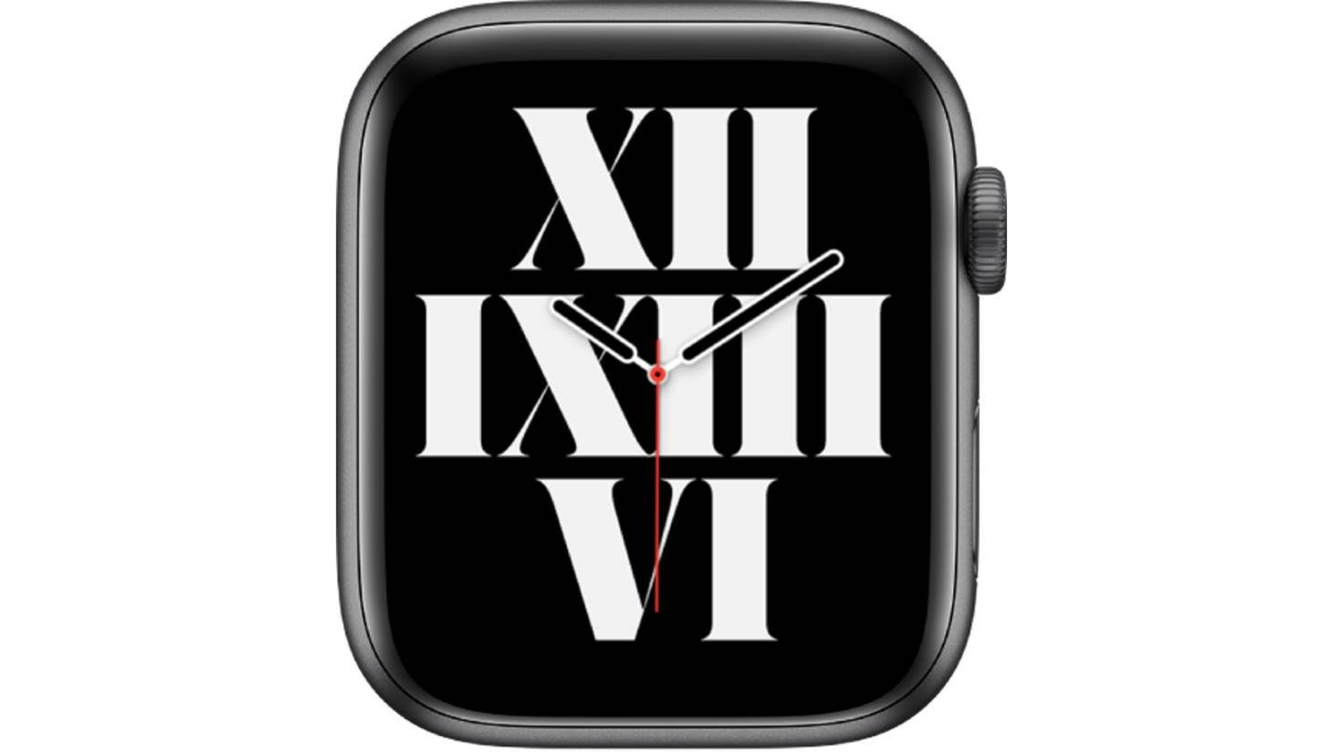 Apple Watch Typograph