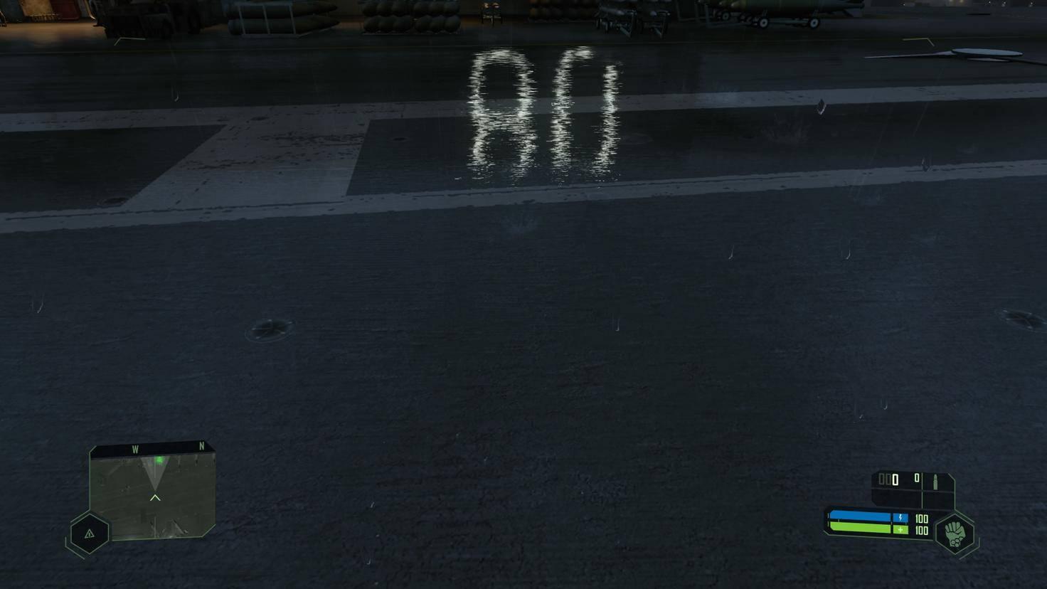 """Der """"Raytracing-Schnelltest"""": Die Spiegelung ist auch noch zu sehen, wenn sich das Objekt außerhalb der virtuellen Kamera befindet."""
