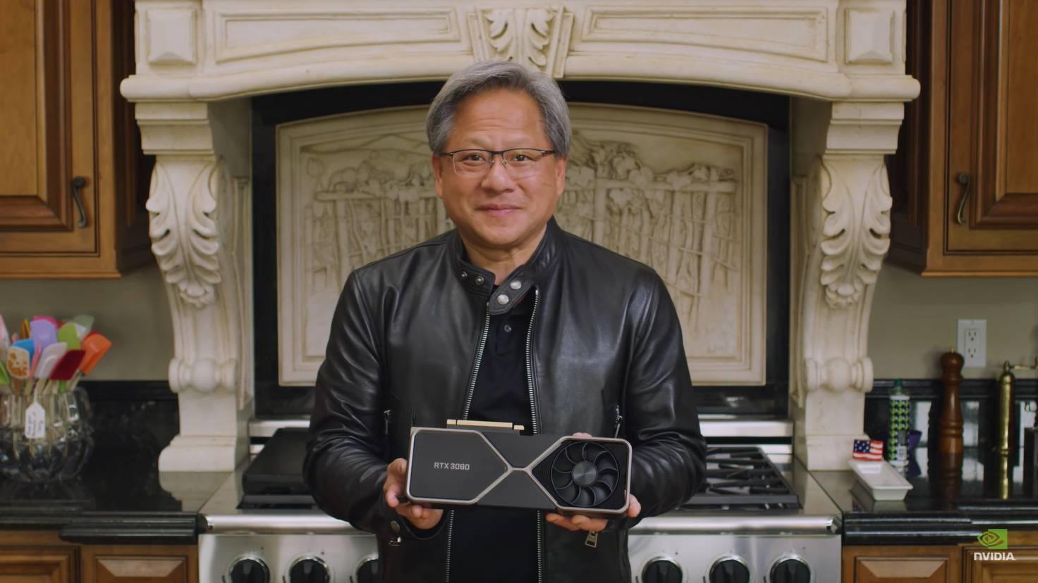 Jen-Hsung-Huang-RTX-3080-Ampere-Grafikkarte