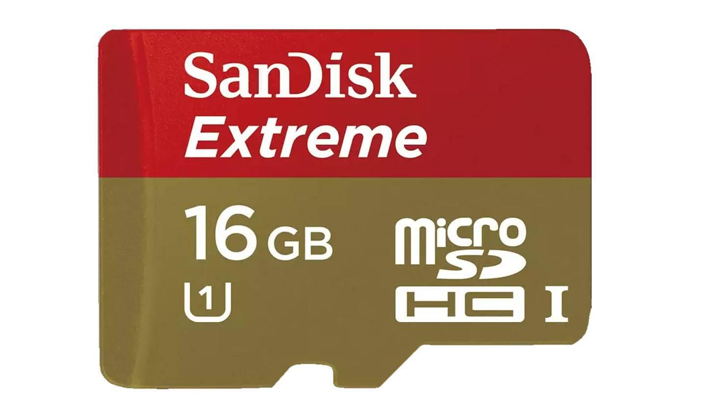 SANDISK Extreme PLUS, Micro-SDHC