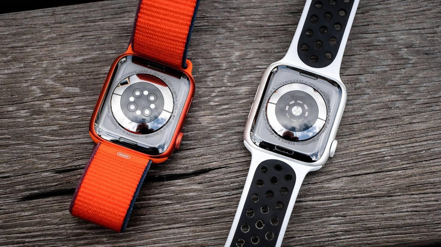 Apple Watch Series 6 und Series 5