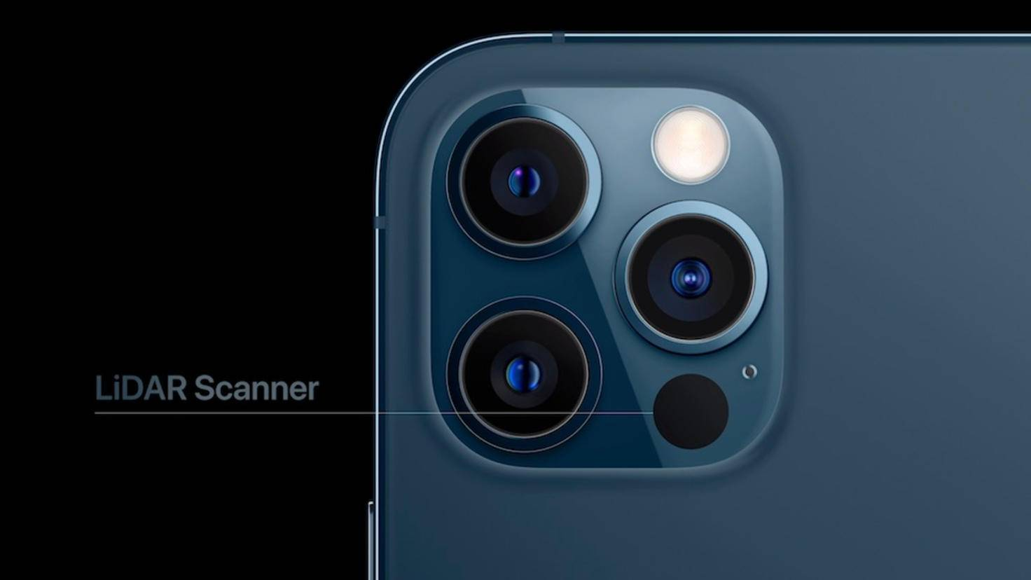 iPhone 12 Pro mit LiDAR-Scanner