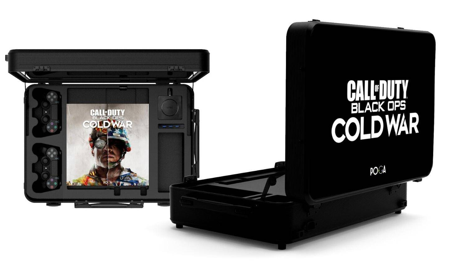 COD CW GAMING CASE INCL. PS4 PRO