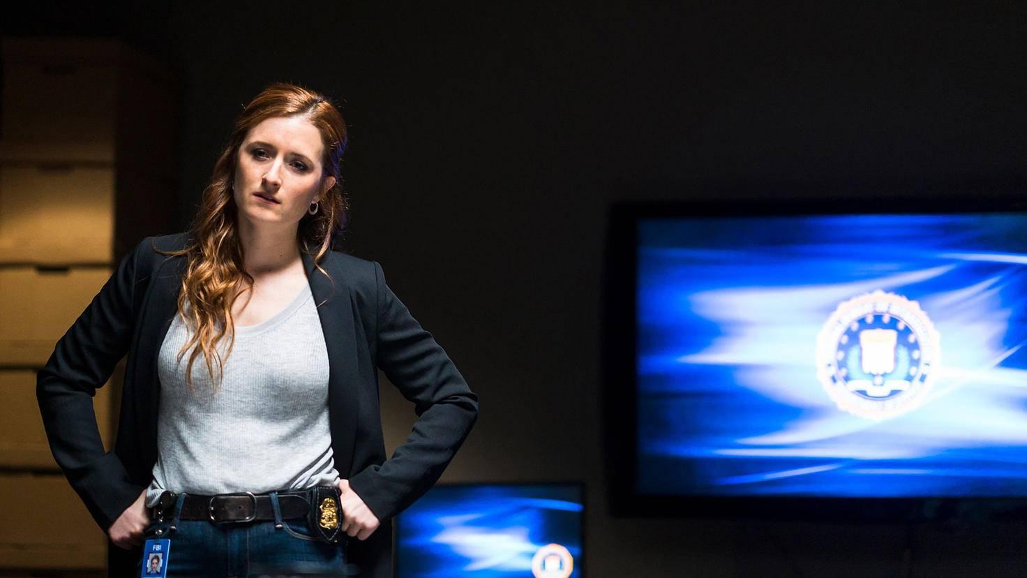 "Grace Gummer als Dominique ""Dom"" DiPierro in Mr. Robot"
