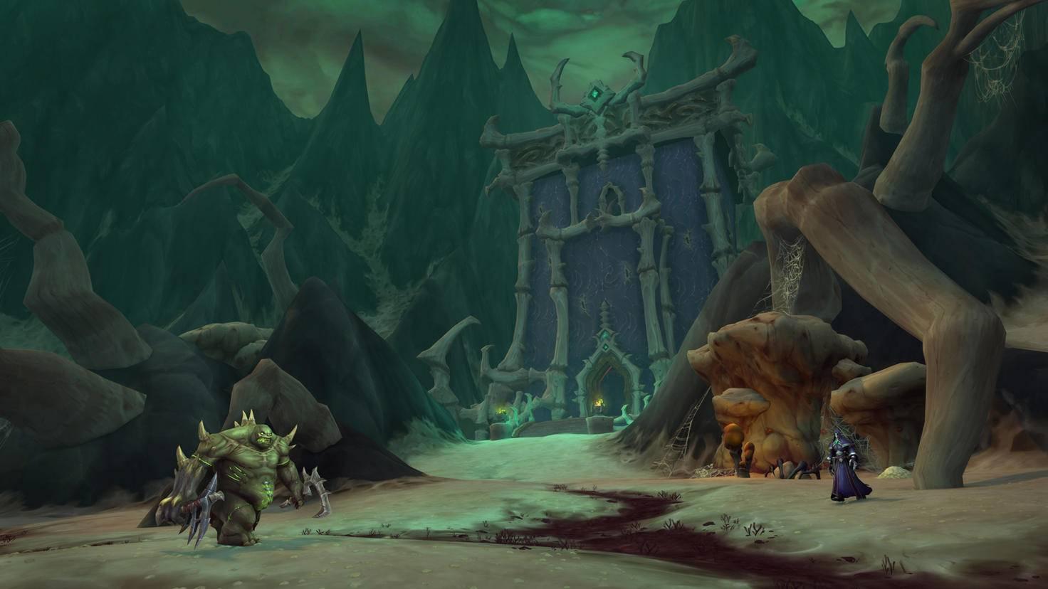World of Warcraft Shadowlands Maldraxxus