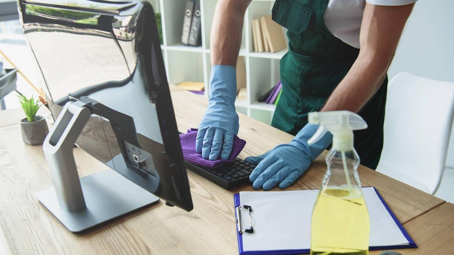 PC-Tastatur-reinigen