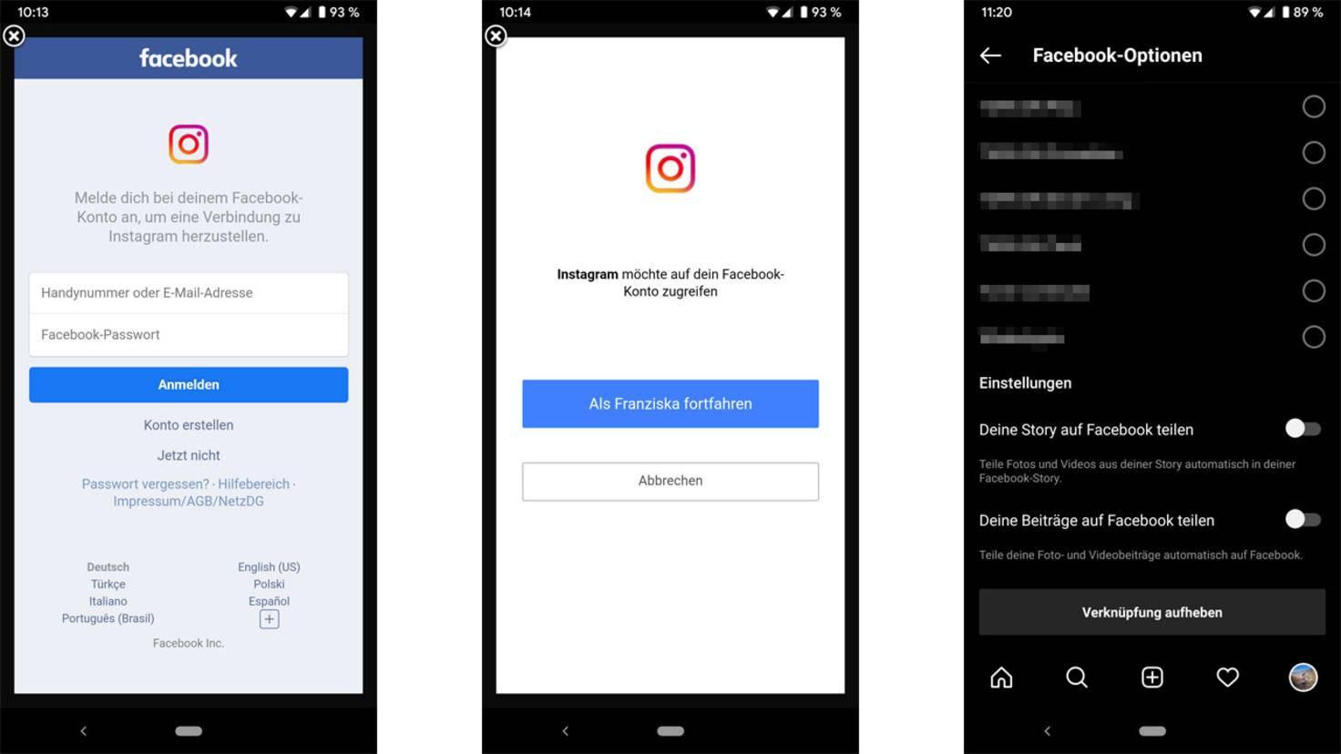 Instagram mit Facebook verbinden Das musst Du dazu wissen