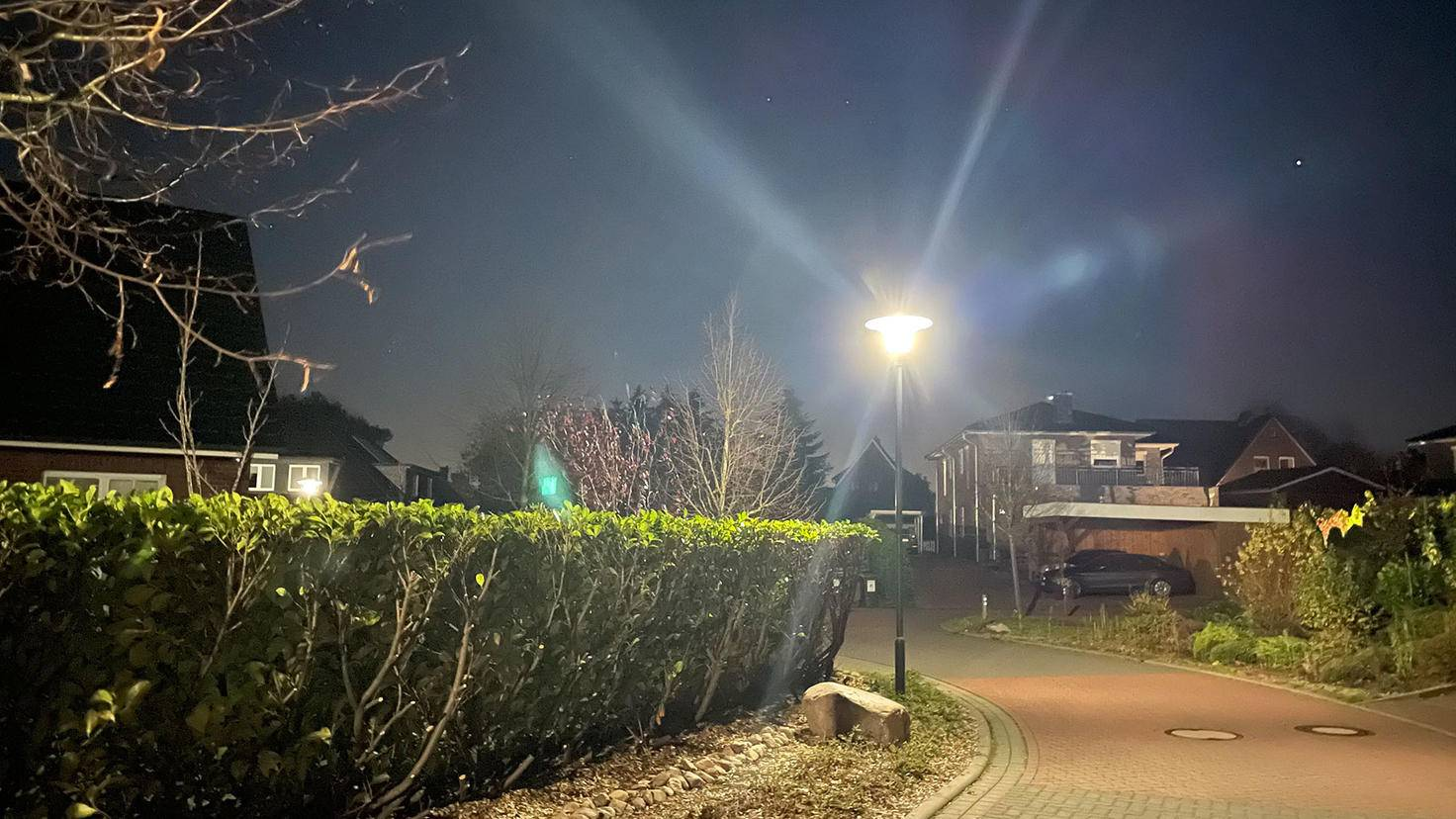 Kameraaufnahme bei Dunkelheit