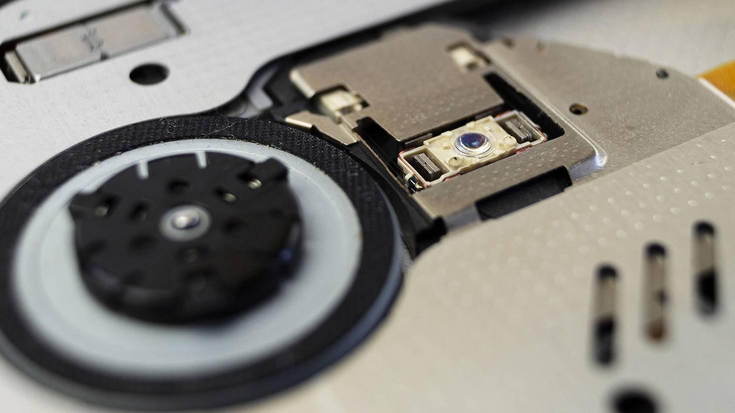 Auch CD-Laufwerke können verschmutzt sein und gewreinigt werden.